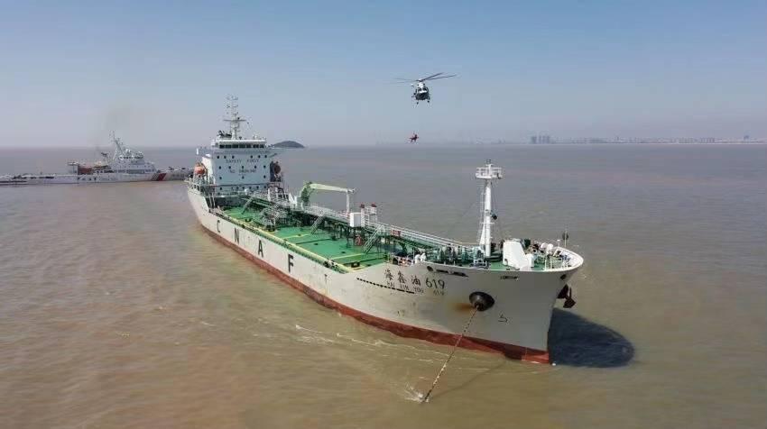 2021年海上空中应急救援专项演练举行
