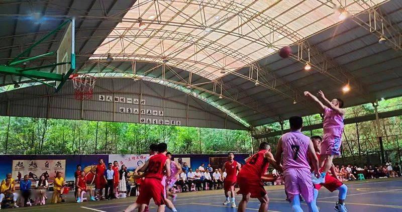 """2021年贵州省""""美丽乡村""""男子篮球赛惠水赛区预选赛激情开赛"""