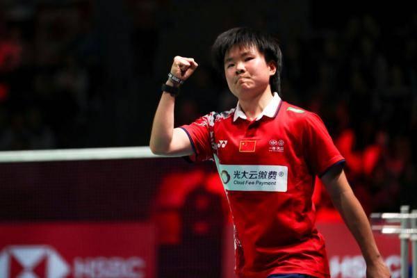 羽毛球丨尤伯杯小组赛:中国队胜丹麦队