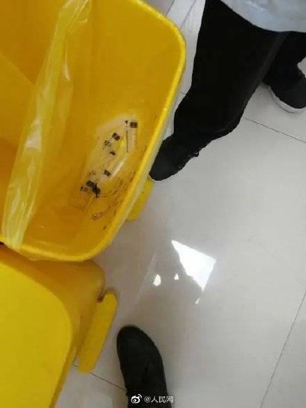 杭州一诊所重复使用皮试针管,护士承认为贪图方便jdm