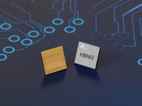 SK海力士首發全新HBM3內存:單顆容量24GB、帶寬