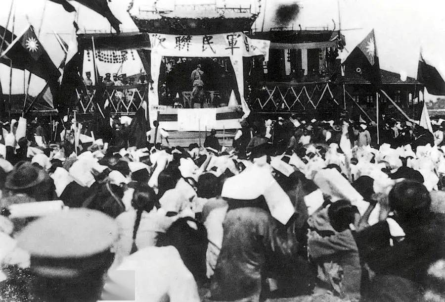 【百个瞬间说百年⑤】1926,誓师北伐